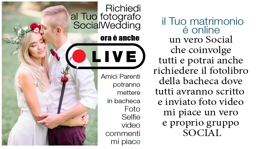 social wedding book
